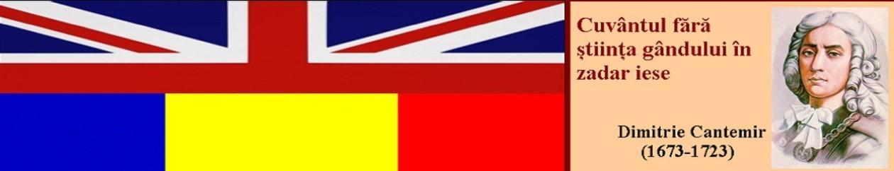 ENGLEZĂ-ROMÂNĂ